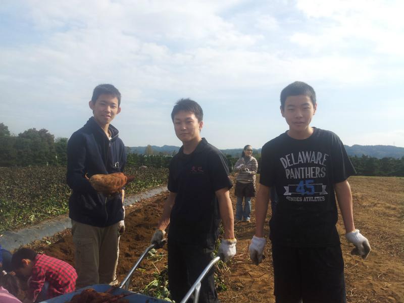 秋野菜の収穫体験 『畑でファー!』 アグリライフ倶楽部