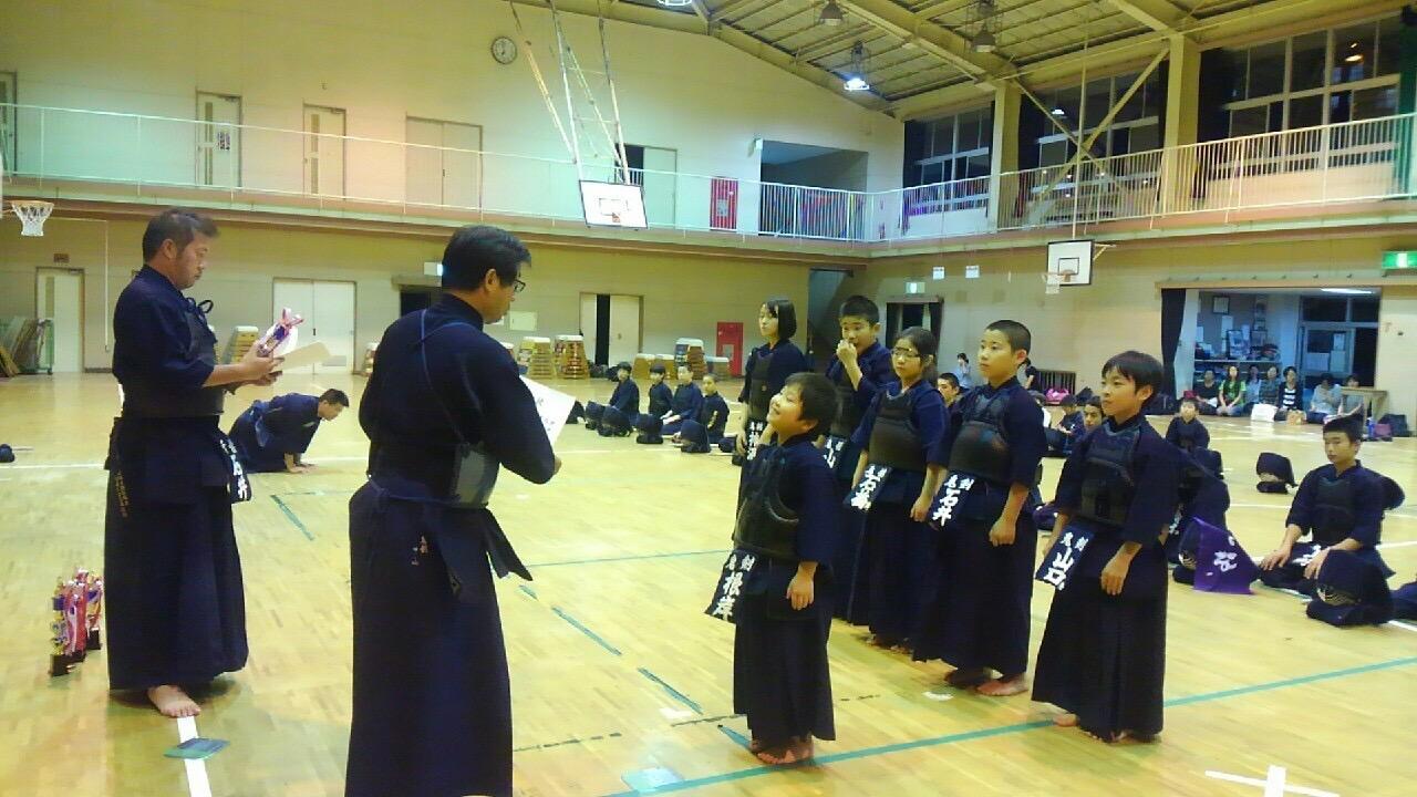 第61回市川市民剣道成大会少年の部