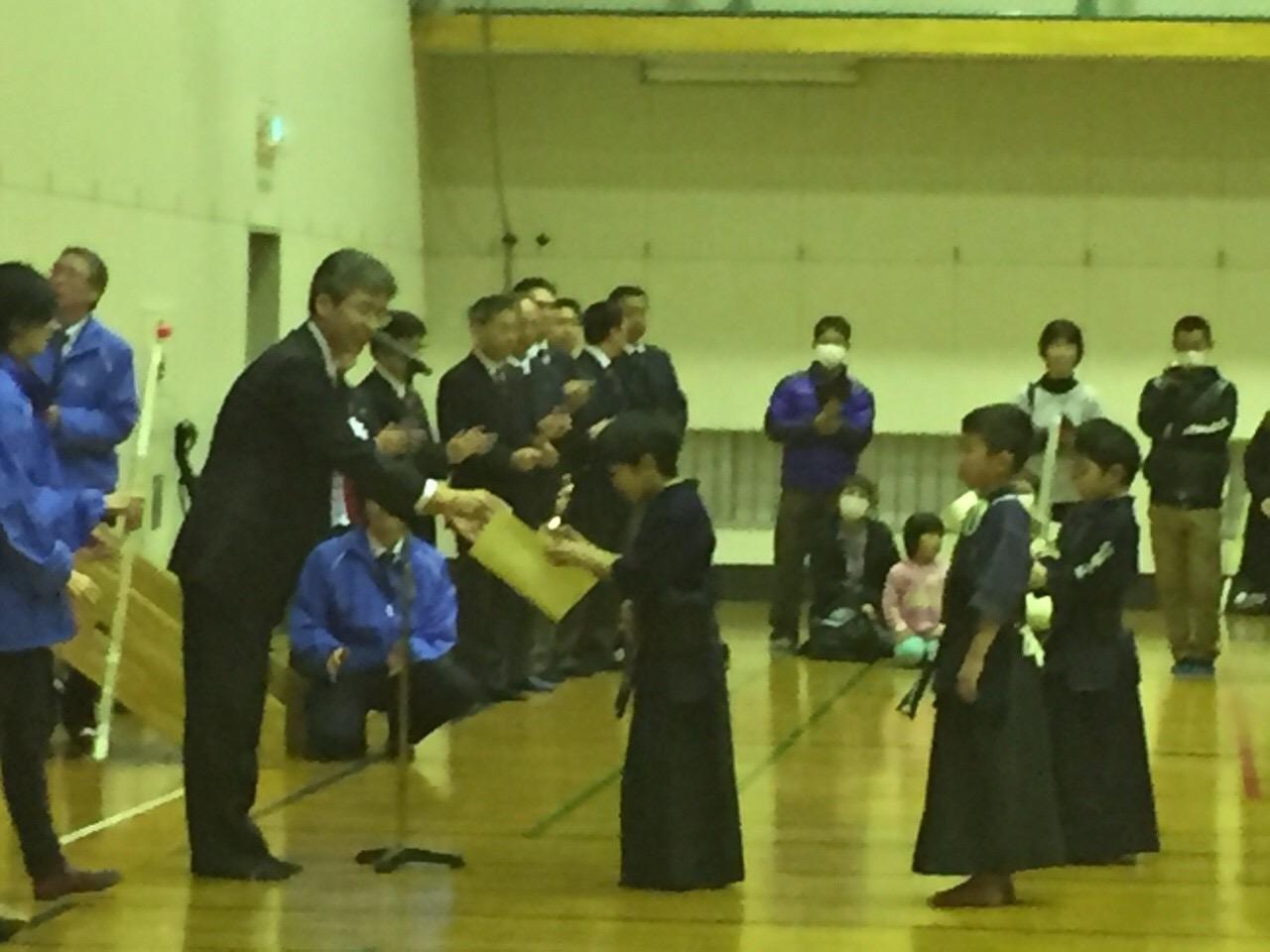 NTTデータジュニア剣道大会